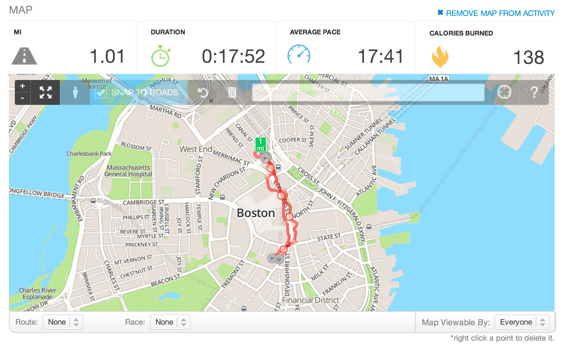 How to edit an activity map runkeeper help center adding a point biocorpaavc
